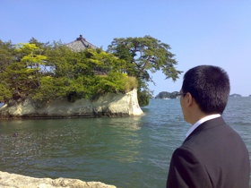 松島とタイド社長